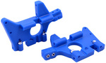 Front Bulkheads for the Traxxas T-Maxx & E-Maxx - Blue