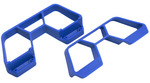 Nerf Bars for the Traxxas 1/10th scale Rally & LCG Slash 4x4 - Blue