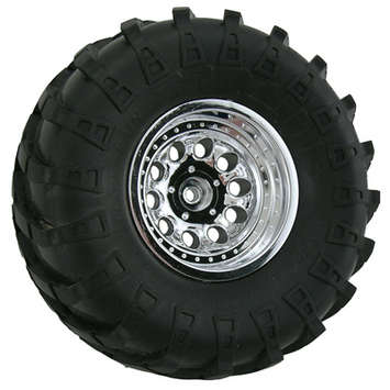 Chrome Revolver Rock Crawler Wheels - Wide Wheelbase picture