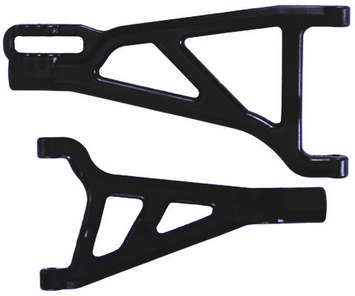 Traxxas Revo Front Left A-arms - Black picture