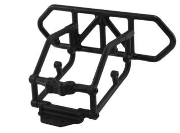 Traxxas Slash 4x4 Rear Bumper - Black picture