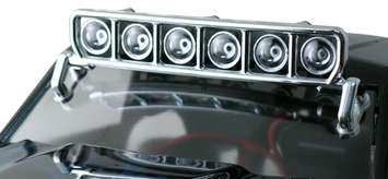 Roof Mounted Light Bar Set - Chrome picture