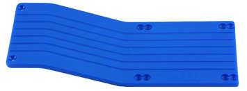 T/E-Maxx Center Skid Plate - Blue picture