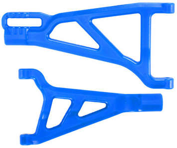 Traxxas Revo Front Left A-arms - Blue picture