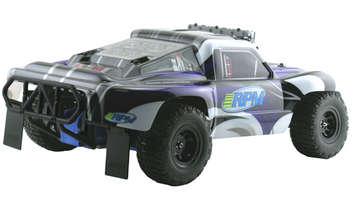 Black Rear Bumper for the Traxxas Slash 2wd picture