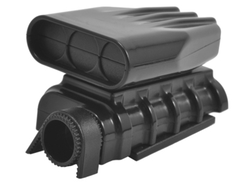 Mock Intake and Blower Set - Black picture