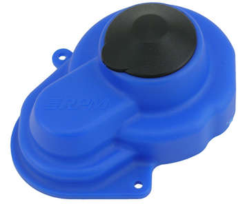 Blue Sealed Gear Cover for the Traxxas Elec. Rustler, Elec. Stampede, Bandit & Slash picture
