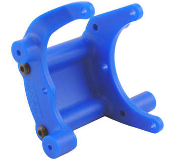 Blue Traxxas Mount for a Rear Bumper or Wheelie Bar picture