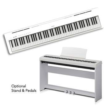 ES110 White Portable Digital Piano picture