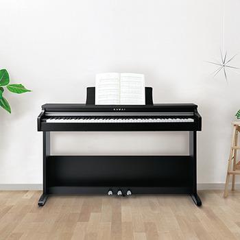 KDP70 Embossed Black Digital Piano picture