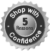 Why buy from the manufacturer? Click to learn five reasons.