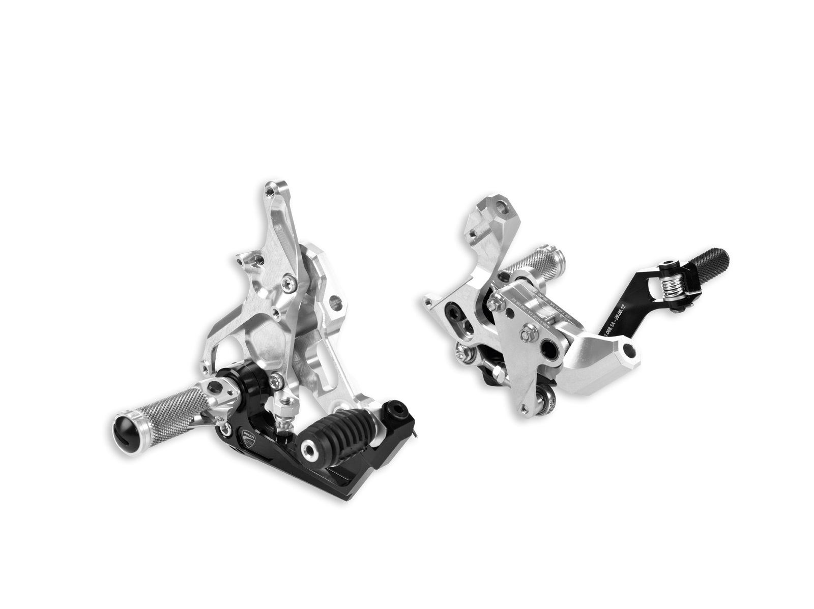 Ducati 1199 Panigale Billet Adjustable Rearsets picture