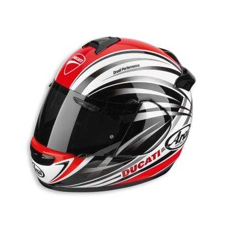 Ducati Stripes Helmet