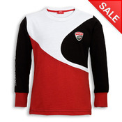 Ducati Corse Kid's Long Sleeve T-shirt
