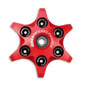 Ducati Radial Clutch Pressure Plate - Red (SALE)