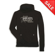 Ducati Retro Ladies Sweatshirt