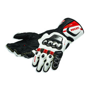 Ducati Corse C2 Leather Gloves - Size Large