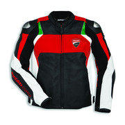 Ducati Corse C3 Leather Jacket - Perf - Size 50