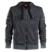 Ducati Historical Hooded Sweatshirt - Size Large