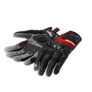 Ducati Summer 2 Fabric-Leather Gloves - Size Large