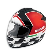 Ducati Checkmate Helmet - Size Large