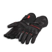 Ducati Strada C4 Fabric-Leather Gloves - Size Large