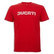 Ducati Ducatiana 80's Men's T-Shirt-Red - Size Large