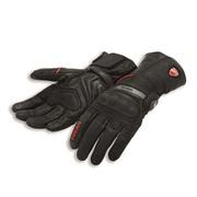 Ducati Strada C3 Fabric-Leather Gloves - Size Medium