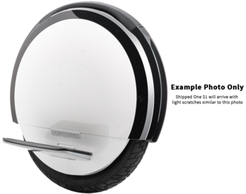 Ninebot One S1 by Segway, White - Blemished picture