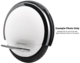 Ninebot One S1 by Segway, White - Blemished