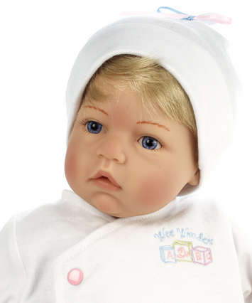 Newborn Nursery Baby Doll - Wee Wonder - Tiny Love - Light Skin, Blonde Hair, Blue Eyes picture