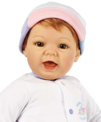 Newborn Nursery Baby Doll - Sweet Baby Doll - Light Skin, Strawberry Blonde Hair, Hazel Eyes picture
