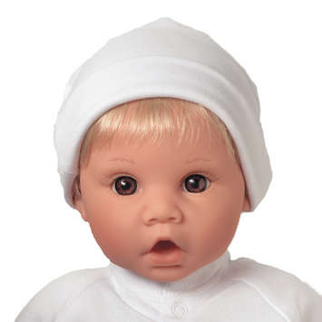 Newborn Nursery Baby Doll - Little Sweetheart - Light Skin, Blonde Hair, Brown Eyes picture