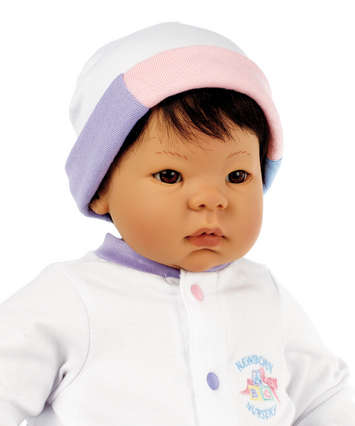 Newborn Nursery Baby Doll - Beautiful Baby Doll - Asian, Black Hair, Brown Eyes picture