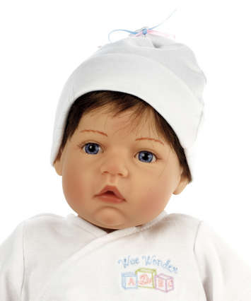 Newborn Nursery Baby Doll - Wee Wonder - Tiny Love - Light Skin, Brown Hair, Blue Eyes picture