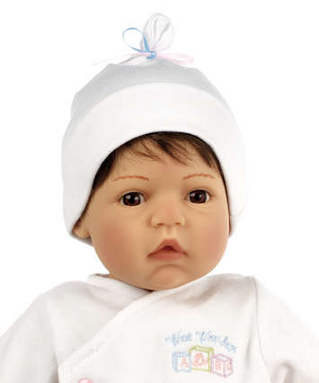 Newborn Nursery Baby Doll - Wee Wonder - Tiny Love - Light Skin, Brown Hair, Brown Eye picture