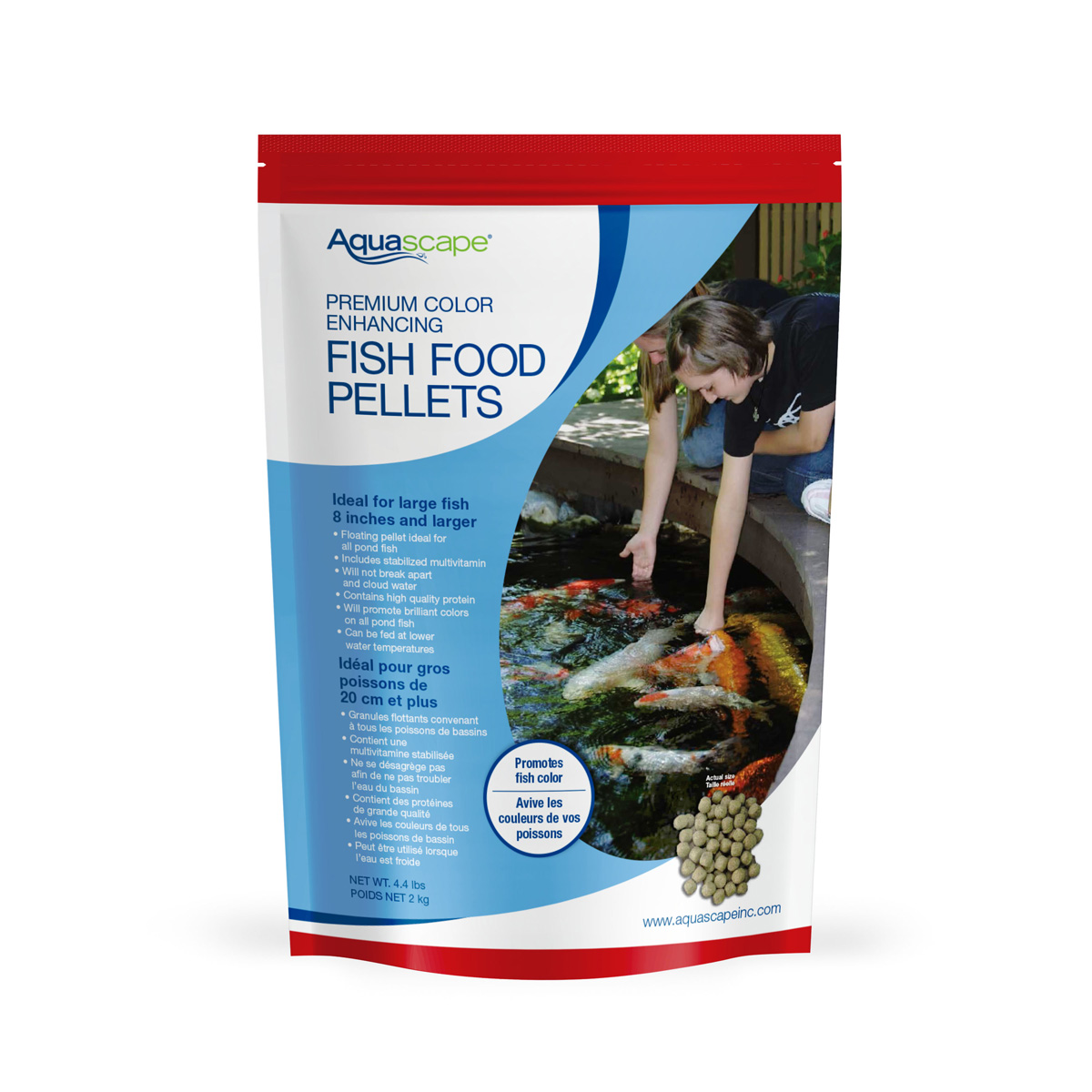 Color Enhancing Fish Food Pellets 2kg picture