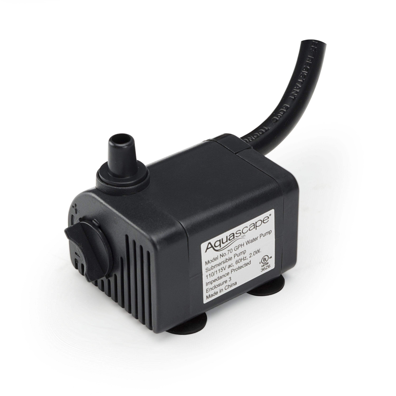 Aquascape Pump: Aquascape 70 GPH Water Pump XS