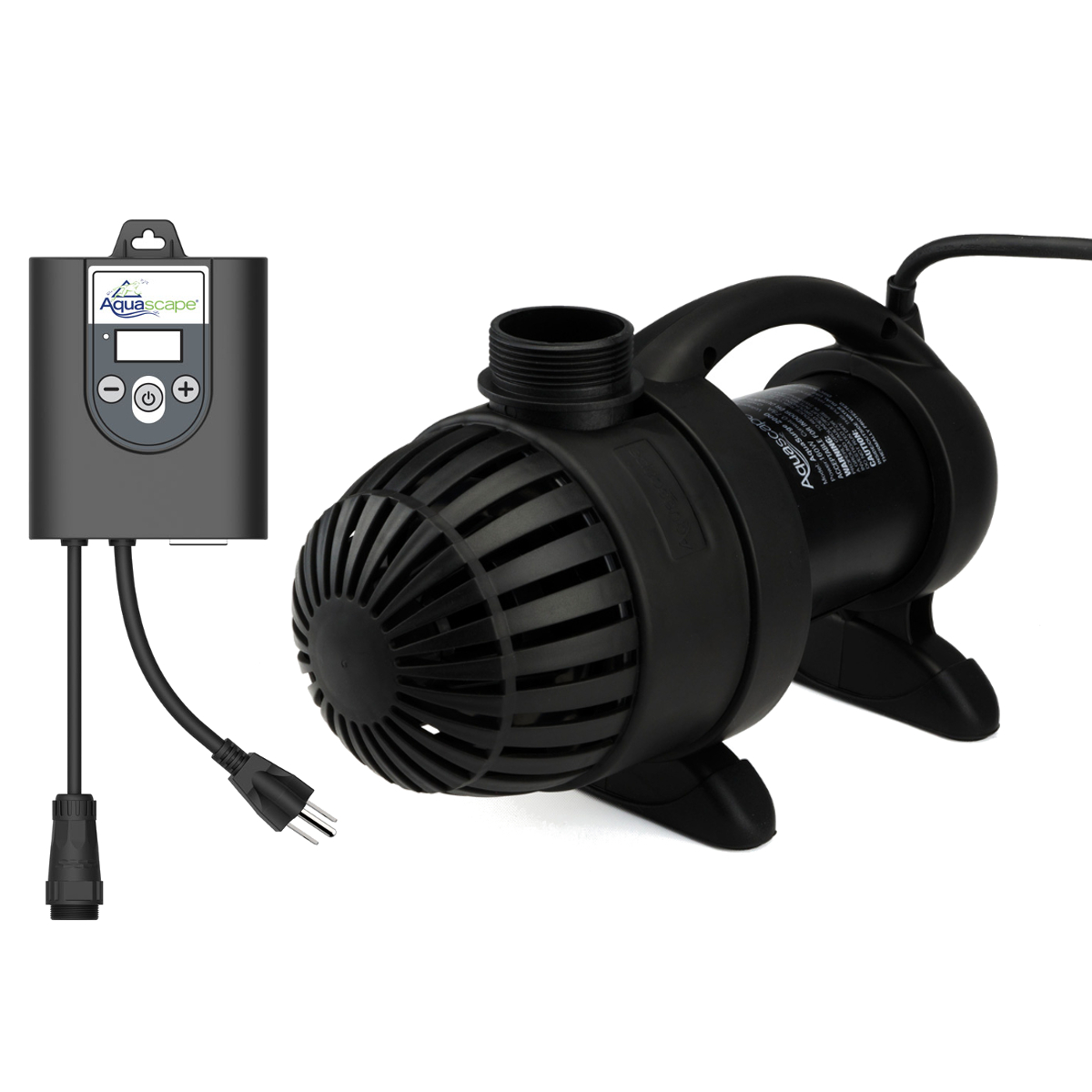 Aquascape Aquasurge Pro Adjustable Flow 2000gph 4000gph Pond Pump Dig Remote Ebay