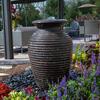 Rippled Urn Landscape Fountain Kit - Medium