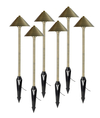 Path and Area 3-Watt LED Landscape Light 6-Pack - Dome Top