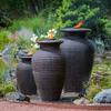 Rippled Urn Fountain - Small