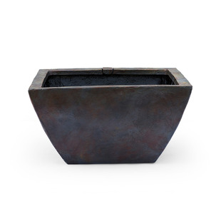 """27"""" Square Textured Gray Slate Patio Pond picture"""