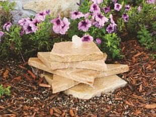 AquaRock Sandstone Fountain Kit - 5 Gallon picture