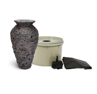 Stacked Slate Urn - Small Kit picture