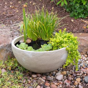 "24"" Desert Granite Patio Pond picture"