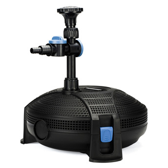 Aquascapes aquajet 600 pump submersible fountain waterfall for Small pond pump filter combo