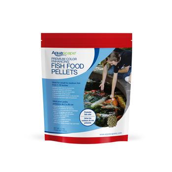 Premium Color Enhancing Fish Food Pellets 500g / 1.1 lbs picture