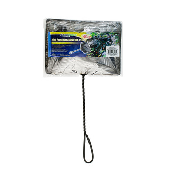 "Mini Pond Net with 12"" Twisted Handle 10"" x 7"" picture"