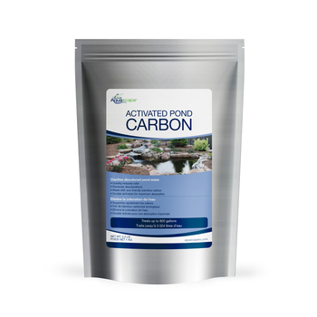 Activated pond carbon aquascape for Charcoal pond filter